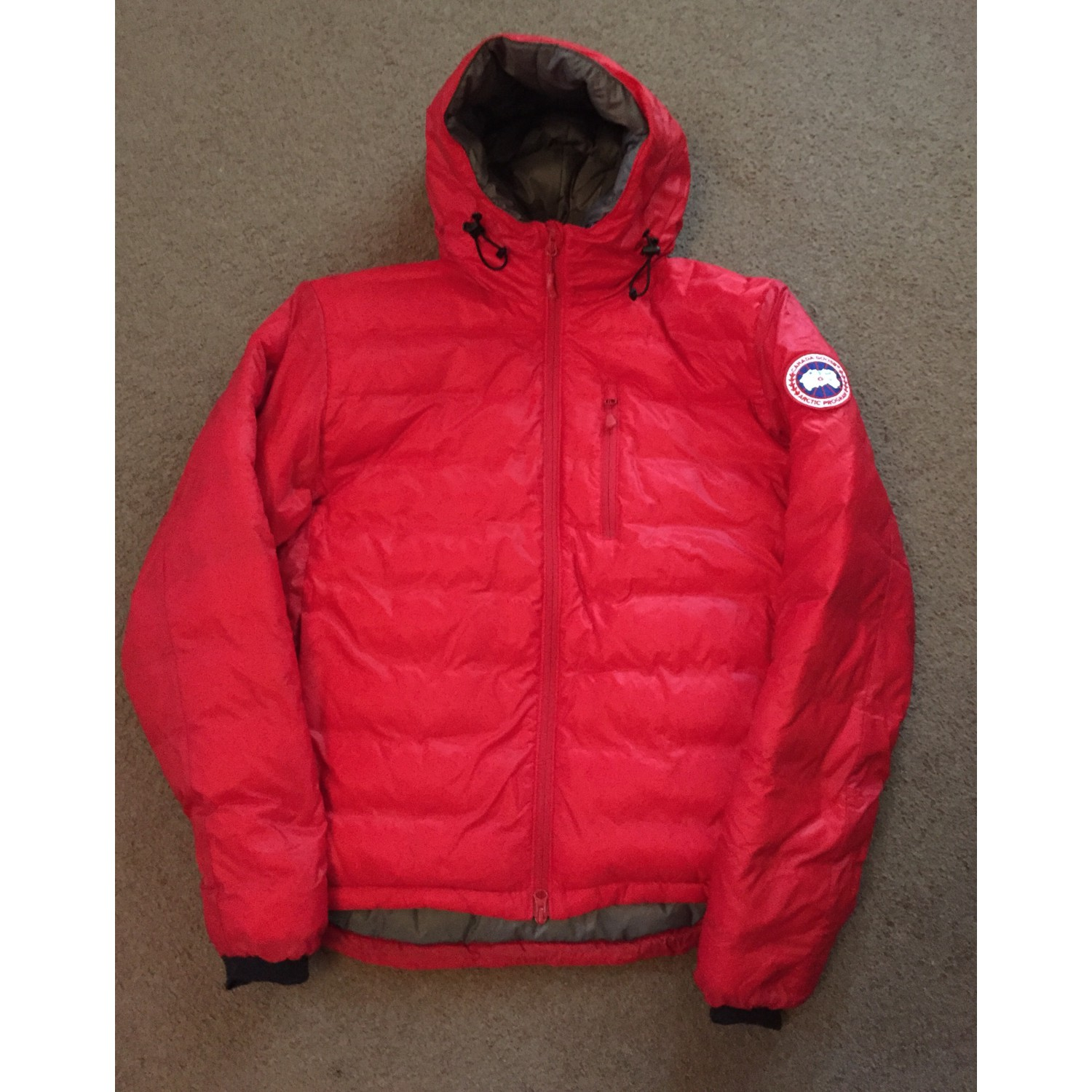 8c163f0d7a4a1 Canada Goose Lodge Down Hoody - Down Jacket Men's | Free UK Delivery ...