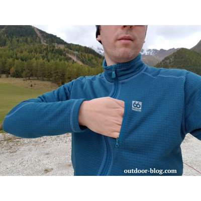 Image 2 from Dennis of 66 North - Grettir Zipped Jacket - Fleece jacket