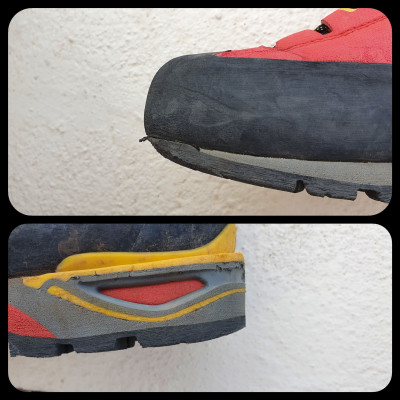 Image 4 from Gian Andrea of La Sportiva - Trango Tower GTX - Mountaineering boots