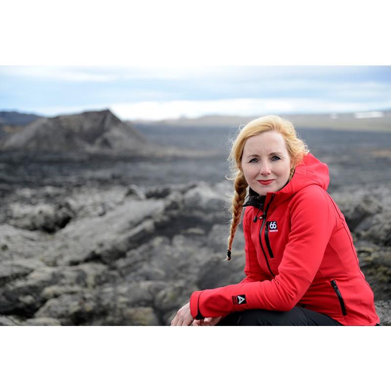 Image 1 from Anja of 66 North - Women's Vatnajökull Softshell Jacket