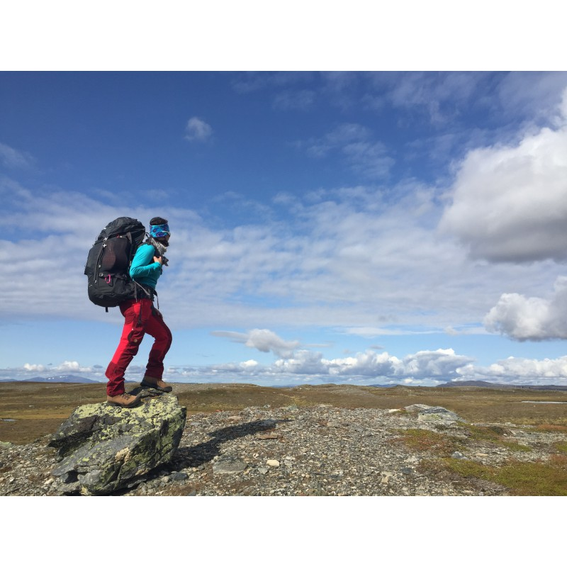 Image 1 from Sandra of Bergans - Trollhetta 75L Lady - Trekking backpack