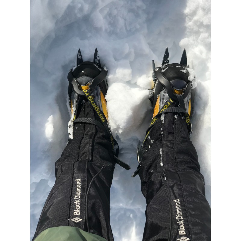 Image 2 from Andreea of Black Diamond - Sabretooth stainless steel - Crampons