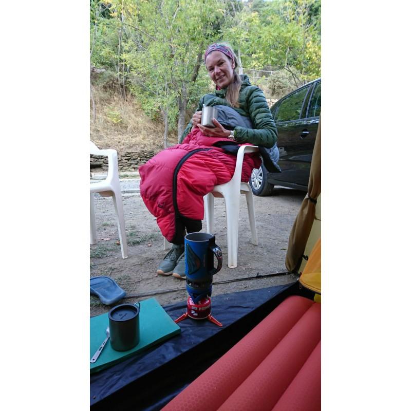 Image 1 from Myriam of Eider - Women's Twin Peaks Hoodie - Down jacket