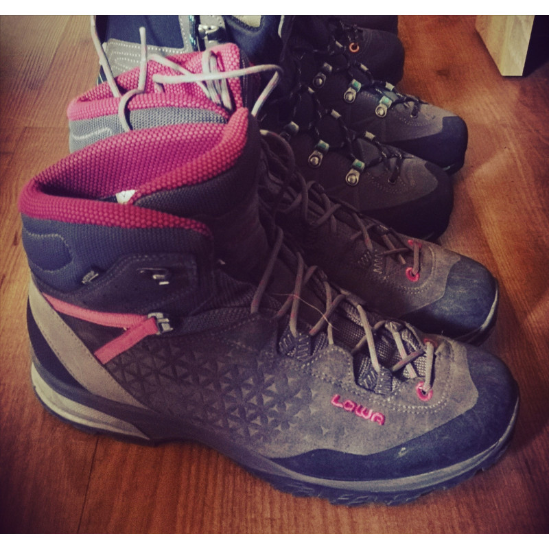 Image 1 from Stephanie of Lowa - Women's Sassa GTX Mid - Walking boots