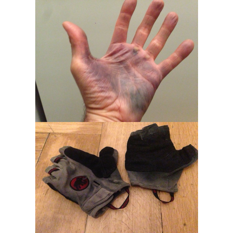 Image 1 from Frederik of Mammut - Trovat Glove - Via ferrata gloves