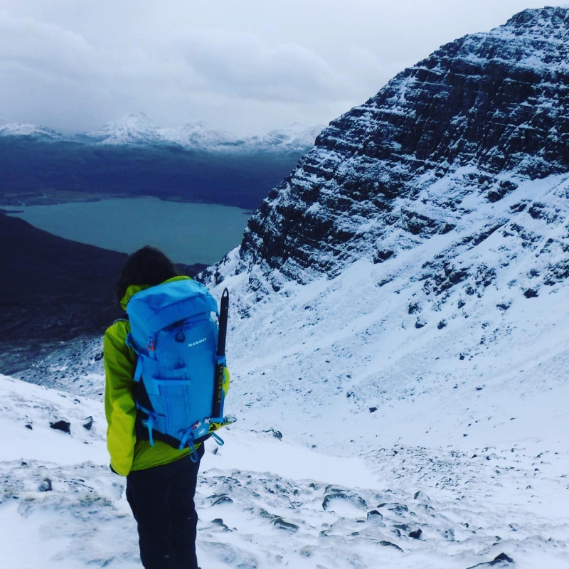 Image 2 from Sian of Mammut - Women's Trea Spine 35 - Mountaineering backpack