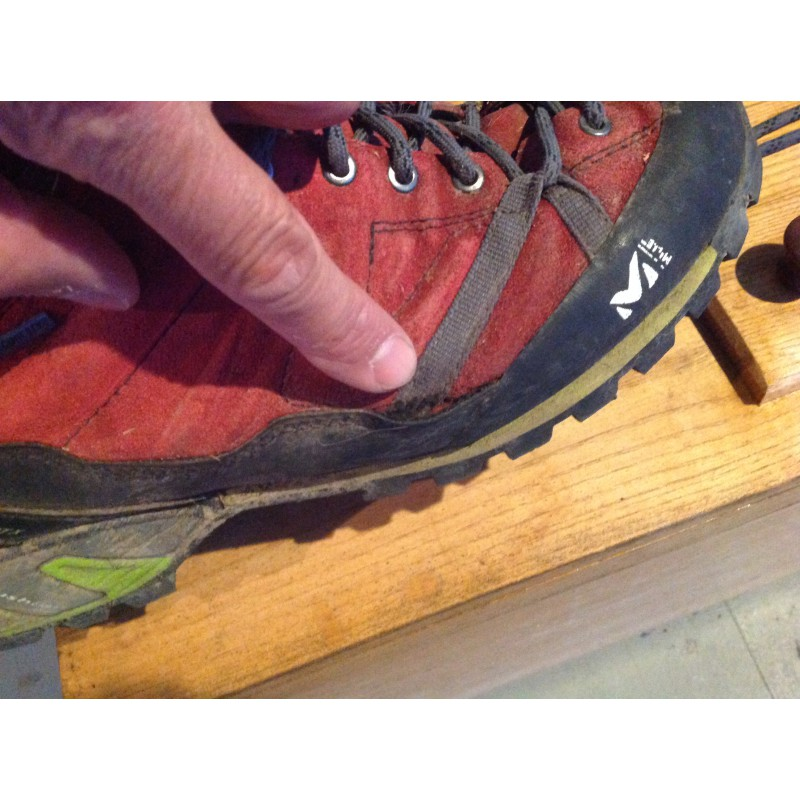 Image 1 from Joe z of Millet - Super Trident GTX - Approach shoes