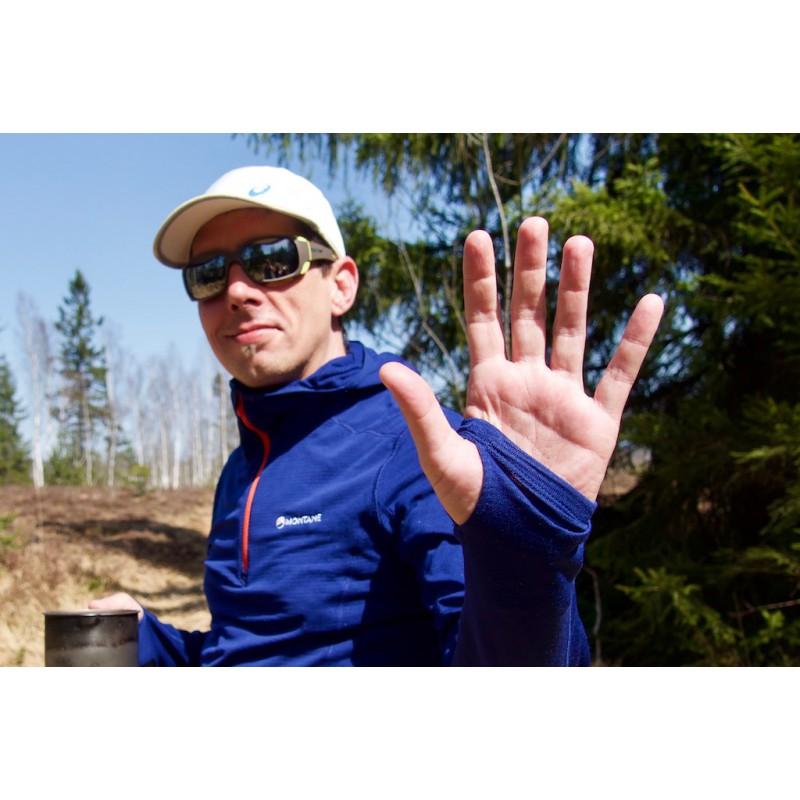Image 1 from Sven of Montane - Allez Micro Hoodie - Fleece jumper
