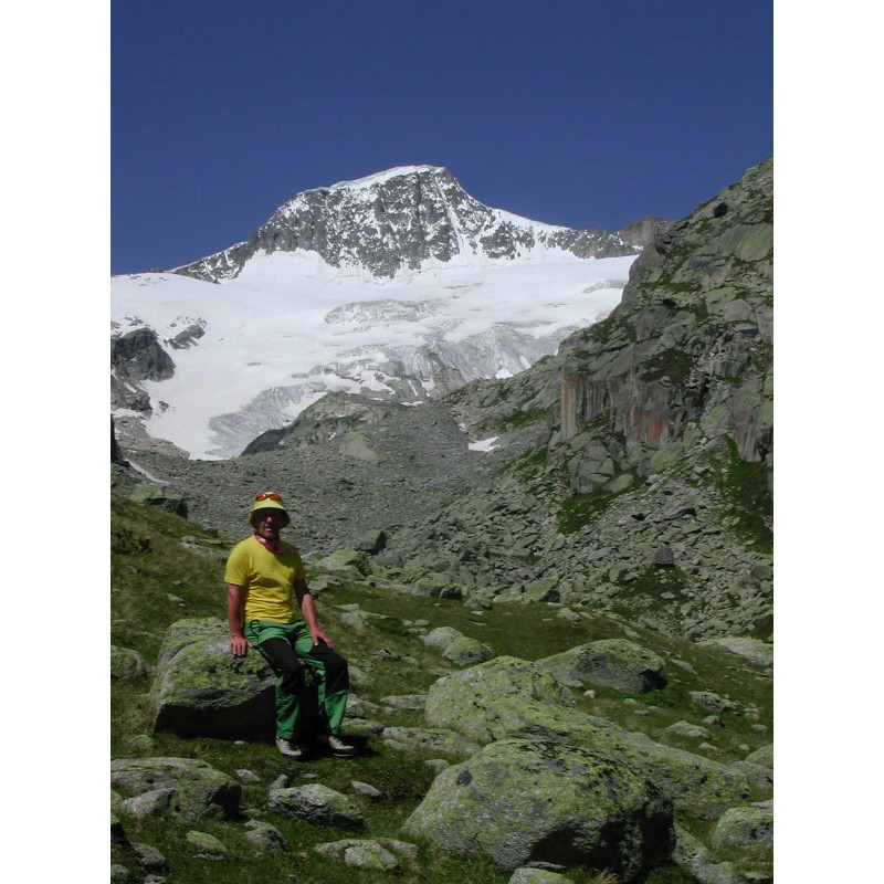 Image 1 from Klaus of Mountain Hardwear - Microchill Zip T - Fleece pullover