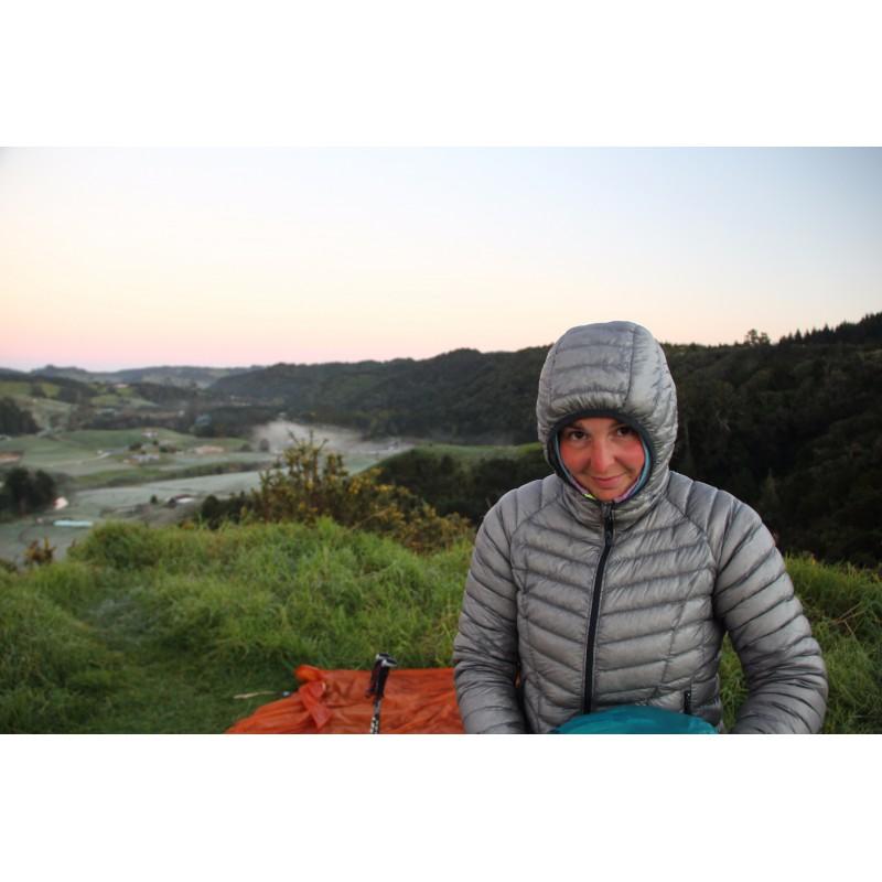 Image 1 from Melanie of Mountain Hardwear - Women's Ghost Whisperer Down Hooded