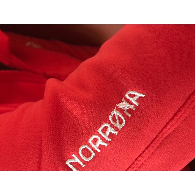 Image 1 from Klaus of Norrøna - Women's Narvik Warm2 Stretch Zip Hood