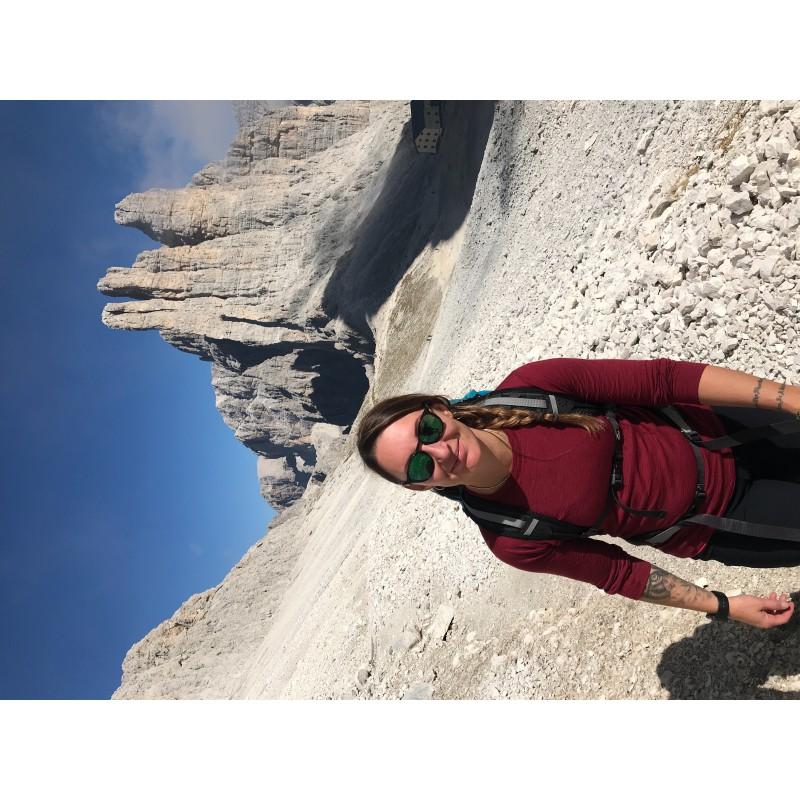 Image 1 from Barbara of Ortovox - Women's Merino Ultra 105 Long Sleeve - Long-sleeve