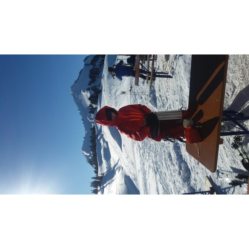 Image 1 from Martina of Ortovox - Women's Swisswool Piz Palü Jacket - Wool jacket