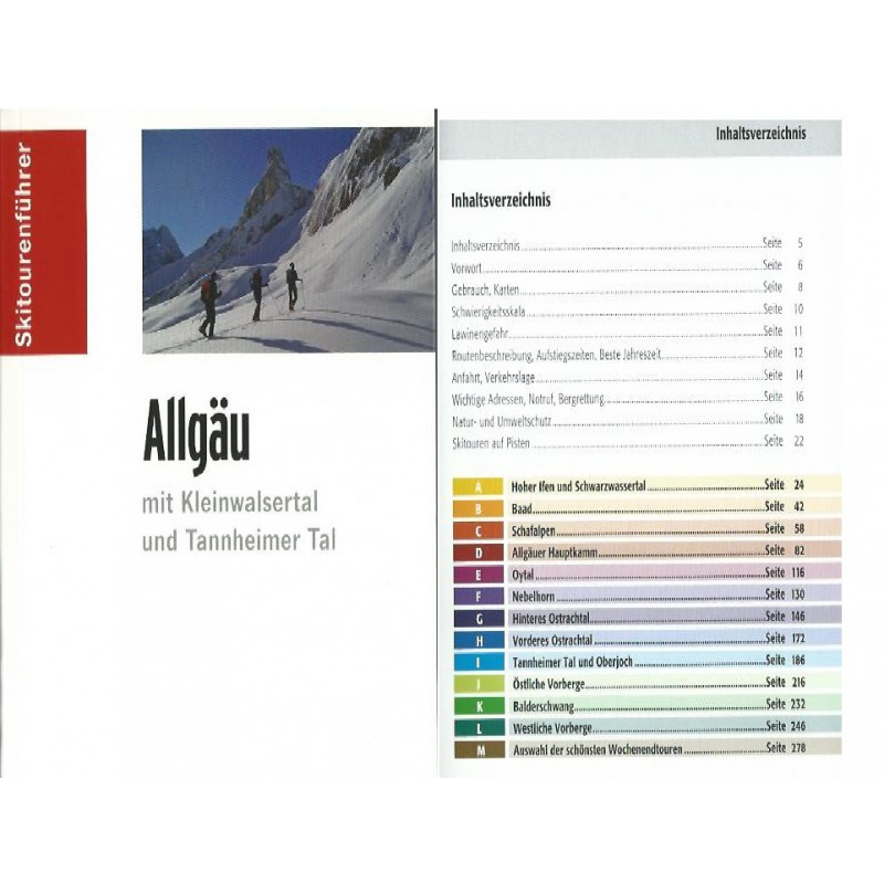 "Image 1 from Reinhard of Panico Verlag - Skitourenführer """"Allgäu"""""