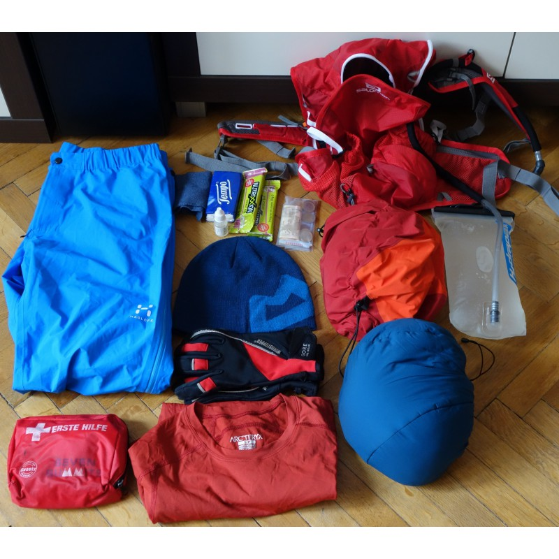 Image 2 from Oliver of Salomon - Agile2 12 Set - Trail running backpack
