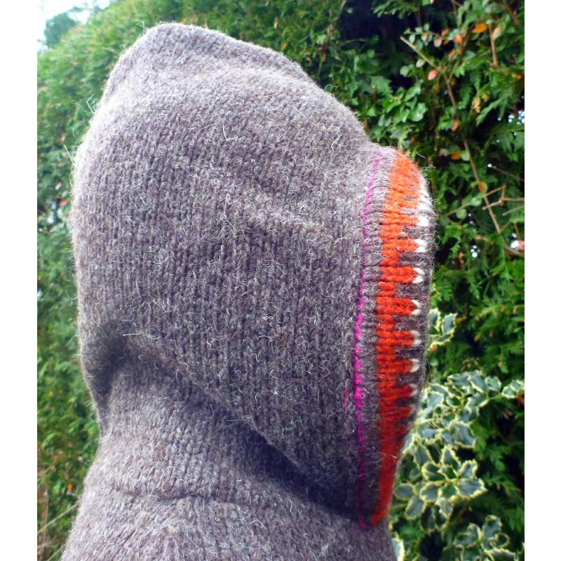 Image 6 from Karen of Sherpa - Women's Samchi Poncho - Wool jacket