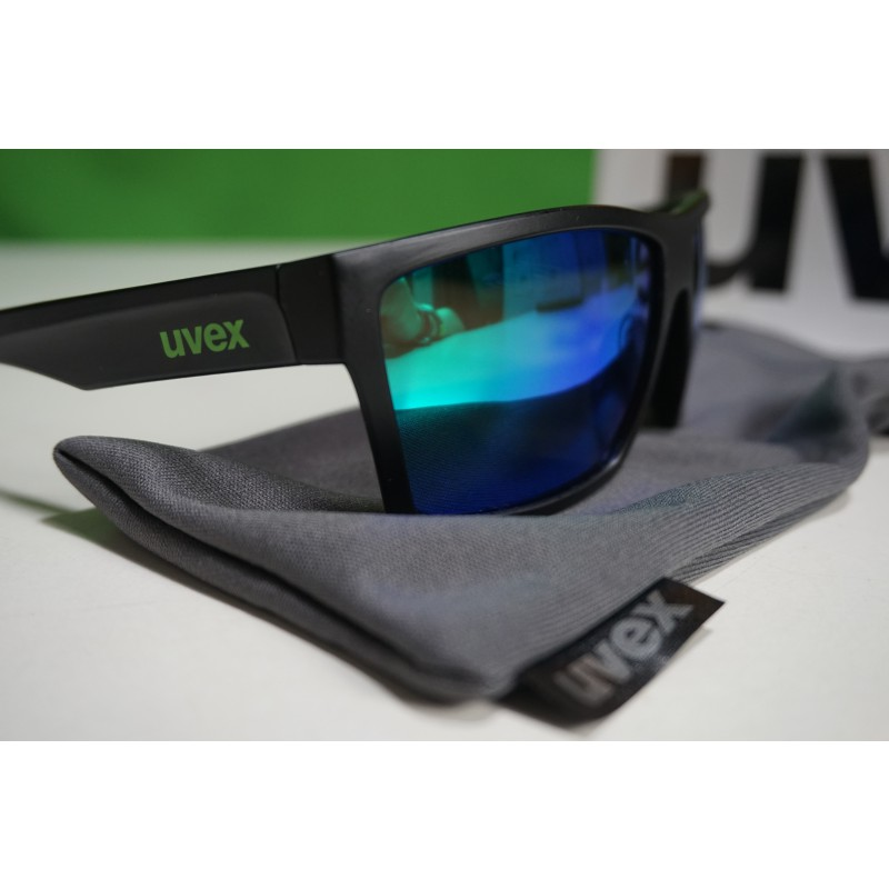 Image 2 from Ole of Uvex - LGL 29 Mirror Green S3 - Sunglasses