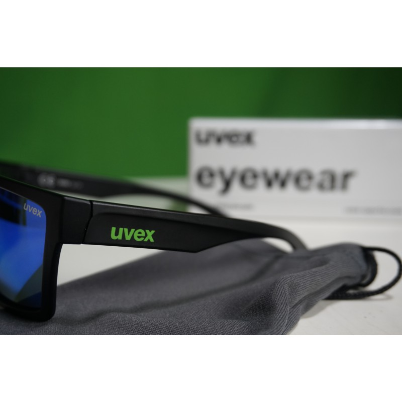 Image 3 from Ole of Uvex - LGL 29 Mirror Green S3 - Sunglasses