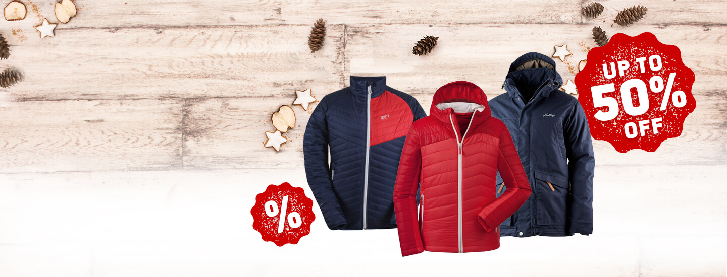 Warm Winterjackets on Sale