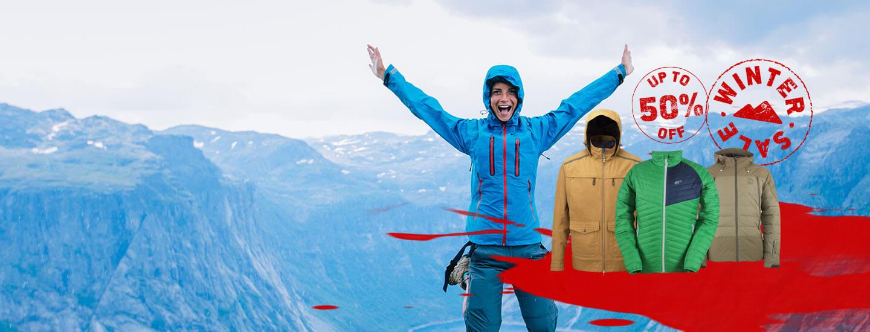 Winter sale jackets