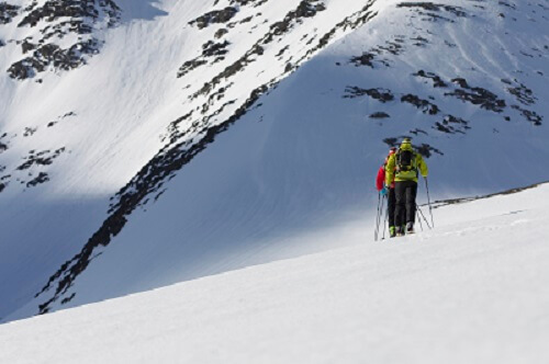 There is always a residual risk with ski tours