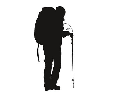 Length of trekking poles & hiking poles
